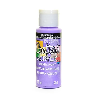 Decoart Crafters Acrylic 2 Oz Bright Purple [Pack Of 12] (12PK-DCA110-3)