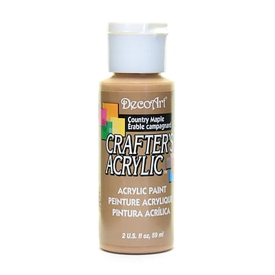 Decoart Crafters Acrylic 2 Oz Country Maple [Pack Of 12] (12PK-DCA13-3)