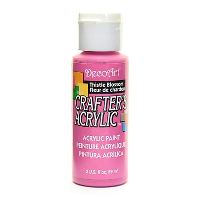 Decoart Crafters Acrylic 2 Oz Thistle Blossom [Pack Of 12] (12PK-DCA67-3)