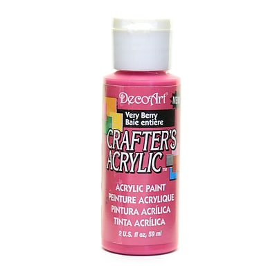 Decoart Crafters Acrylic 2 Oz Very Berry [Pack Of 12] (12PK-DCA121-3)