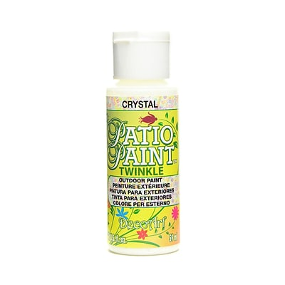 Decoart Patio Paint Crystal 2 Oz. [Pack Of 8] (8PK-DCP450-3)