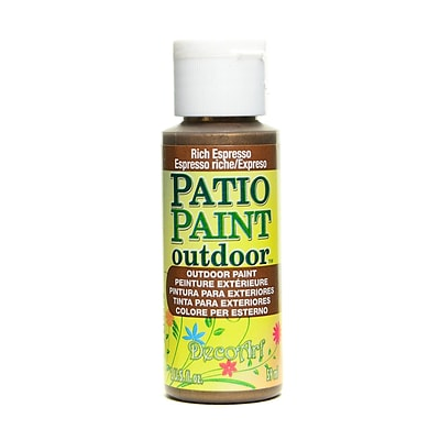 Decoart Patio Paint Rich Espresso 2 Oz. [Pack Of 8] (8PK-DCP401-3)