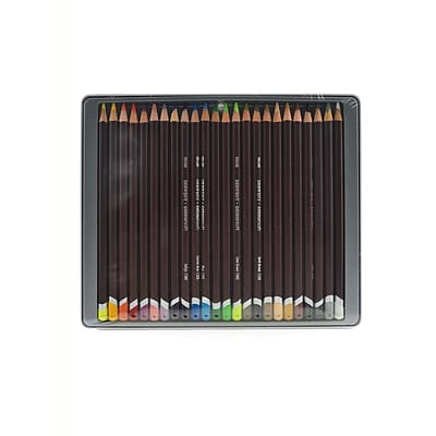 Derwent Coloursoft Pencil Sets Set Of 24 (0701027)