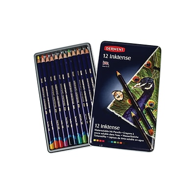Derwent Inktense Pencil Sets Set Of 12 (0700928)