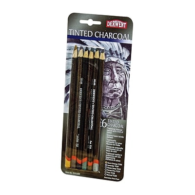 Derwent Tinted Charcoal Pencil Sets Set Of 6 (2301689)