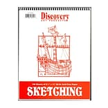 Discovery Sketching Pads 11 In. X 8 1/2 In. 100 Sheets (TA0005)