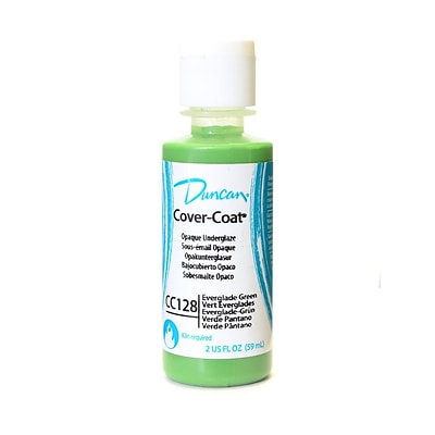 Duncan Cover-Coat Opaque Underglazes Everglade Green 2 Oz. [Pack Of 4] (4PK-CC128-2 91753)