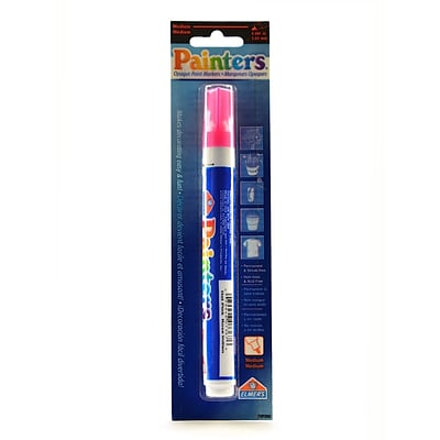 ElmerS Painters Markers Each Neon Hot Pink [Pack Of 6] (6PK-W7367)