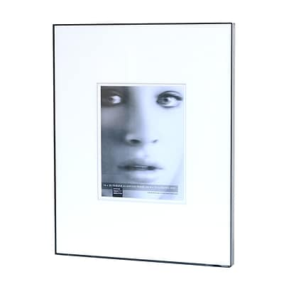 Framatic Double Matted Fineline Aluminum Frames 16 In. X 20 In. 8 In. X 10 In. Opening (F1620BD49)