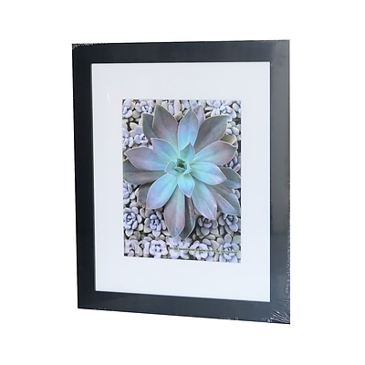 Framatic Metro Seamless Panel Frames Black 16 In. X 20 In. 11 In. X 14 In. Opening (01620B51)