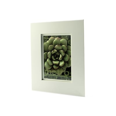 Framatic Metro Seamless Panel Frames White 5 In. X 7 In. 5 In. X 7 In. Opening (00507W)