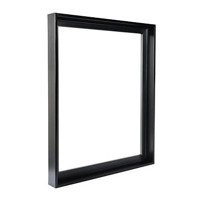 Gemline Frame Stretched Canvas Floater Frames Black 24 In. X 36 In. (777.102436BK)