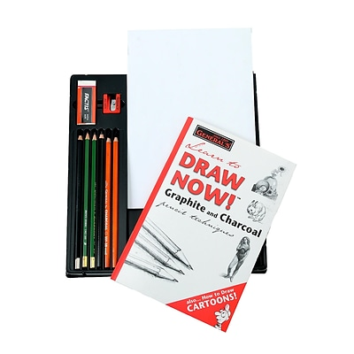GeneralS Learn To Draw Now! Drawing Kit [Pack Of 2] (2PK-30)
