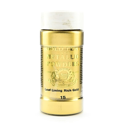 Gold Leaf  And  Metallic Co. Metallic And Mica Powders Leaf/Lining Rich Gold 2 Oz. (GLMP-0015-002)