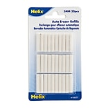 Helix Auto Eraser Eraser Refills Pack Of 30 [Pack Of 12] (12PK-19071)