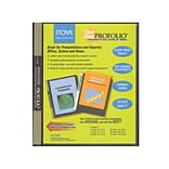 Itoya Clear Cover Profolio Presentation Books 36 Pages (72 Views) [Pack Of 2] (2PK-CC36)