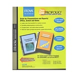 Itoya Clear Cover Profolio Presentation Books 60 Pages (120 Views) [Pack Of 30] (30PK-CC-60)