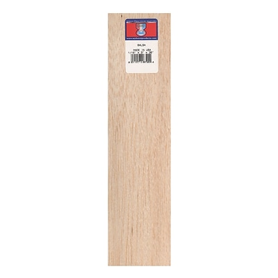 Midwest Balsa Sheets 1/16 In. 3 In. X 36 In. [Pack Of 10] (10PK-6302)