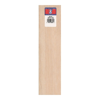 Midwest Balsa Sheets 3/32 In. 3 In. X 36 In. [Pack Of 10] (10PK-6303)