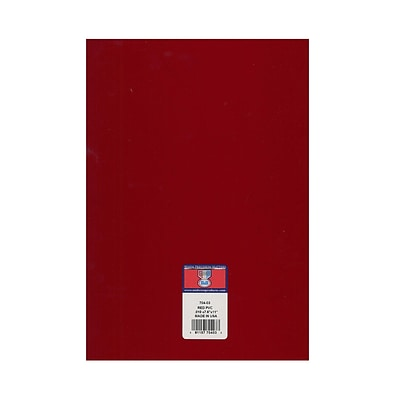 Midwest Clear Colored Pvc Sheets .010 In./.23 Mm Red [Pack Of 8] (8PK-704-03)