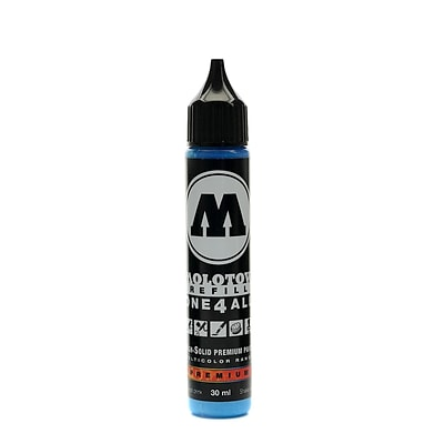 Molotow One4All Acrylic Paint Marker Refill Shock Blue Middle 30 Ml 161 [Pack Of 3] (3PK-693.161)