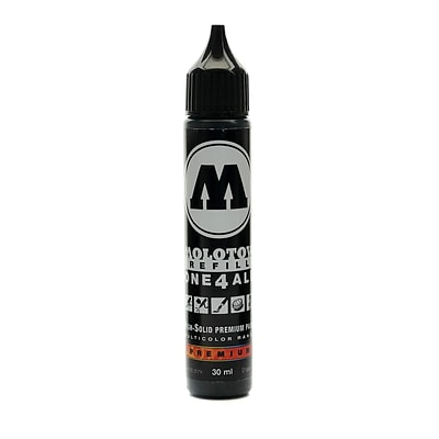 Molotow One4All Acrylic Paint Marker Refill Signal Black 30 Ml 180 [Pack Of 3] (3PK-693.180)