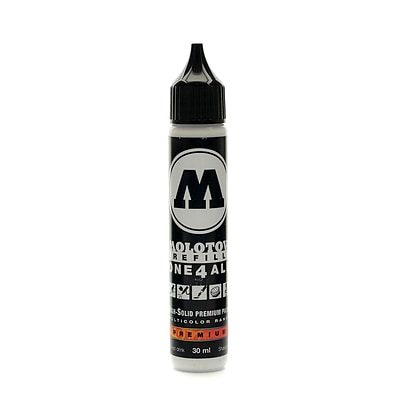 Molotow One4All Acrylic Paint Marker Refill Signal White 30 Ml 160 [Pack Of 3] (3PK-693.160)