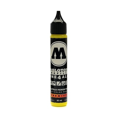 Molotow One4All Acrylic Paint Marker Refill Zinc Yellow 30 Ml 006 [Pack Of 3] (3PK-693.006)