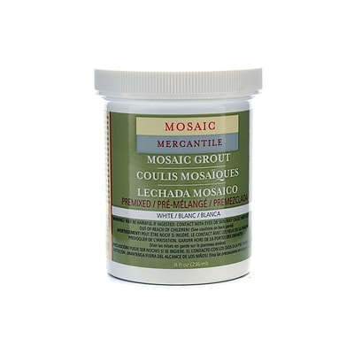 Mosaic Mercantile Tile Grout White [Pack Of 2] (2PK-GRT-8)