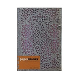 Paperblanks Silver Filigree Journals Blush Pink Midi, 5 In. X 7 In. 240 Pages, Lined (9781439719350)
