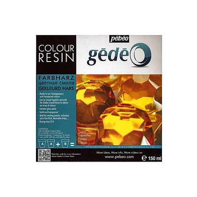 Pebeo Gedeo Colour Resins Topaz 750 Ml (766155CAN)
