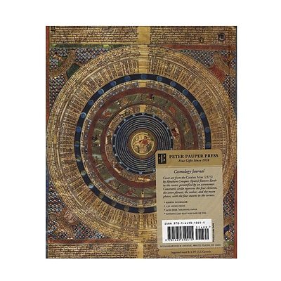 Peter Pauper Oversized Journals Cosmology 7 1/4 In. X 9 In. 192 Pages [Pack Of 2] (2PK-9781441310415)
