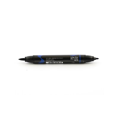 Prismacolor Premier Double-Ended Brush Tip Markers Indigo Blue 043 [Pack Of 6] (6PK-1773204)