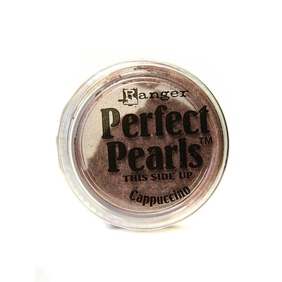 Ranger Perfect Pearls Powder Pigments Cappuccino Jar [Pack Of 6] (6PK-PPP30690)