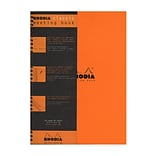 Rhodia Meeting Books 8 1/4 In. X 11 3/4 In. Orange 80 Sheets (193408)