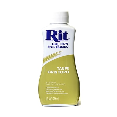 Rit Dyes Taupe Liquid 8 Oz. Bottle [Pack Of 4] (4PK-8349)