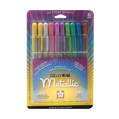 Sakura Gelly Roll Metallic Pen Sets Set Of 10 [Pack Of 2] (2PK-57370)