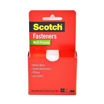 Scotch Fasteners 3/4 In. X 5 Ft. Roll White Multi-Purpose [Pack Of 2] (2PK-RF7040)