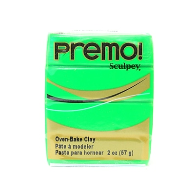 Sculpey Premo Premium Polymer Clay Green 2 Oz. [Pack Of 5] (5PK-PE02-5323)