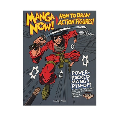 Search Press Manga Now! How To Draw Action Figures Each (9781782210788)