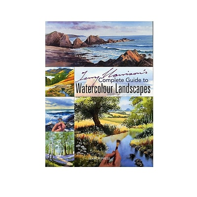 Search Press Terry Harrison Books Complete Guide To Painting Landscapes In Watercolour (9781844483204)