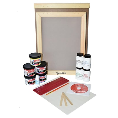 Speedball Deluxe Screen Printing Kit Complete Kit With Video (4522)
