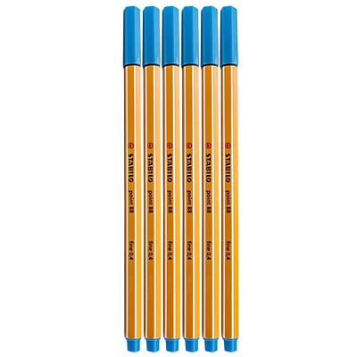 Stabilo Point 88 Pens Ultramarine No. 32 [Pack Of 20] (20PK-SW88-32)