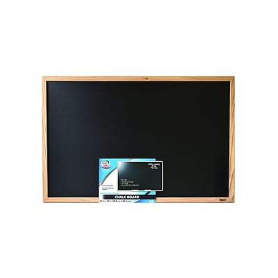 The Board Dudes Wood Style Framed Chalk Boards 24 In. X 36 In. (CXM79)
