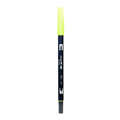 Tombow Dual End Brush Pen Chartreuse [Pack Of 12] (12PK-56514)