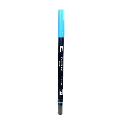 Tombow Dual End Brush Pen Light Blue [Pack Of 12] (12PK-56557)