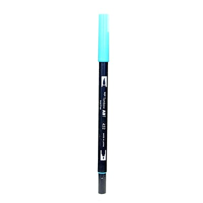 Tombow Dual End Brush Pen Process Blue [Pack Of 12] (12PK-56551)