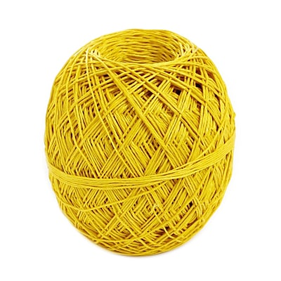 Toner Crafts Hemp Balls #20 400 Ft Yellow [Pack Of 2] (2PK-85557)
