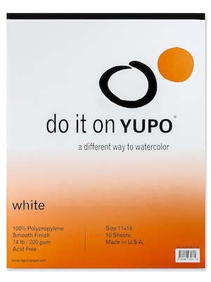 Yupo Watercolor Pad 11 In. X 14 In. (l21 Yup197wh1114)