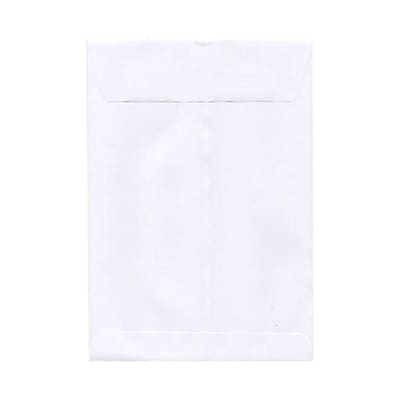 JAM Paper® 9 1/2 x 12 1/2 Open End Envelopes; White, 25/Pack (1623198)